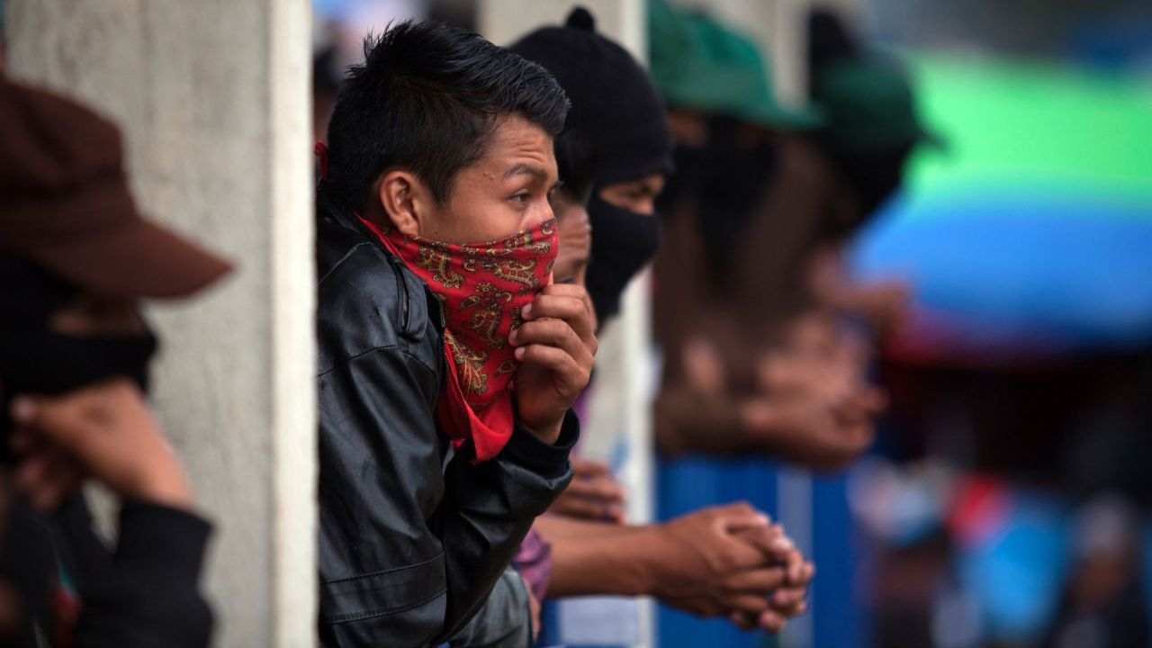 EZLN paramilitares Chiapas CDMX