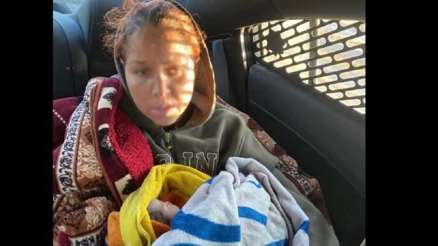 GN auxilia mujer dio a luz en carretera Matehuala SLP