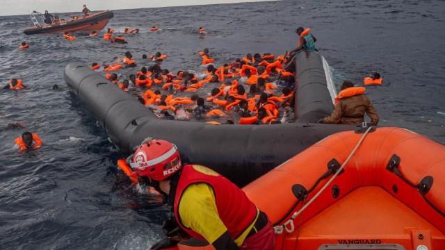 bebé 6 meses muere naufragio Mar Mediterráneo