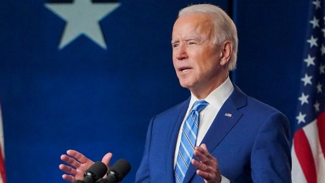 """Joe Biden: """"me honra que me hayan elegido para dirigir nuestro gran país"""""""