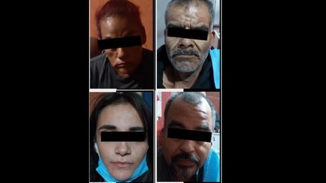 detienen 4 personas intoxicación cristal bebé 1 año Sonora