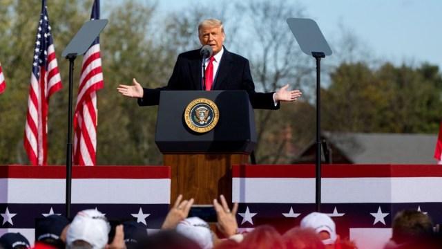 La popularidad de Donald Trump aumenta ante los latinos en el 2020