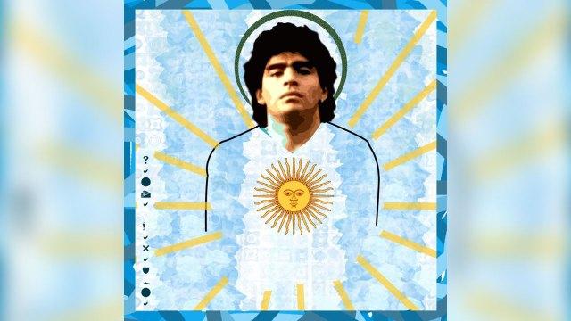 Diego Armando Maradona era considerado como un dios por un sector de fanáticos y fundaron la Iglesia Maradoniana