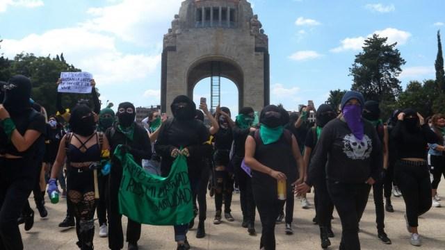 Horario y ruta de la marcha feminista en la Ciudad de México.
