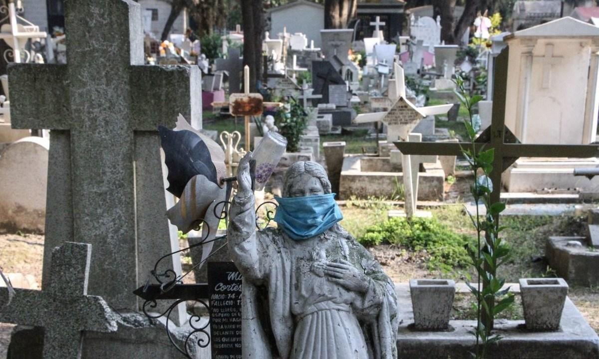 Debido al Covid, México tiene el año con más muertes en su historia
