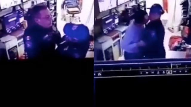 CDMX: descubren a policías teniendo sexo en centro de monitoreo [Video]