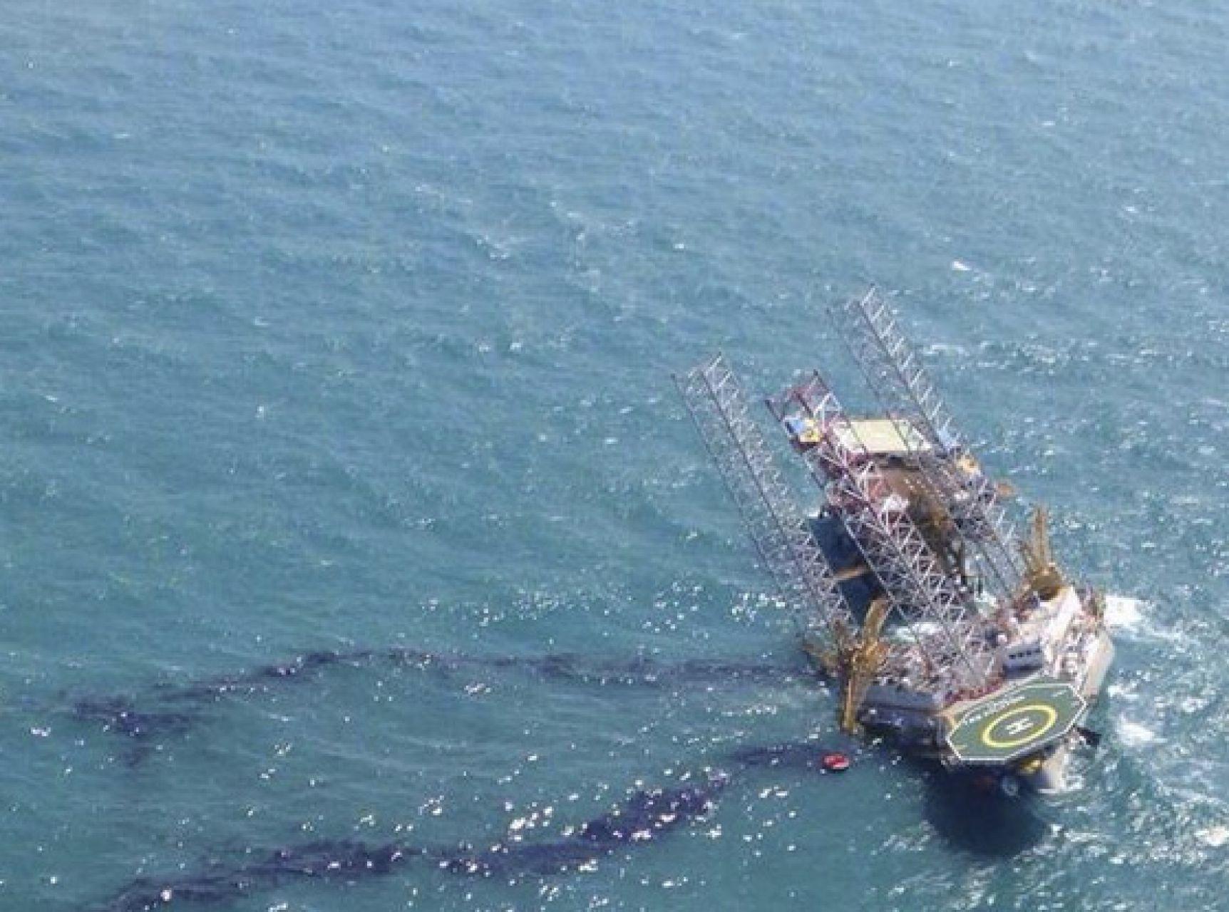 Derrame de petróleo en Campeche en 2015