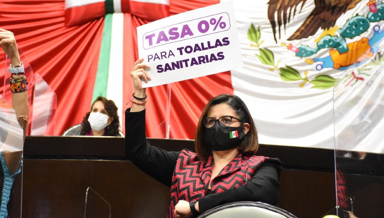 Diputados y organización civil recurren SCJN menstruación libre de IVA