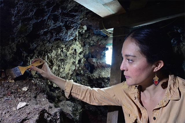 Encuentran cráneos en un Huei Tzompantli del Centro Histórico CDMX