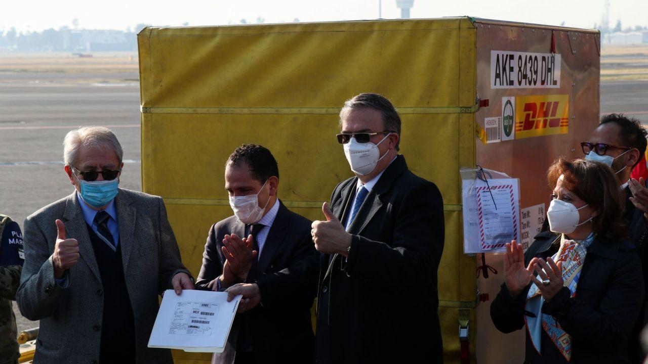 Llega la vacuna contra el COVID-19 a México