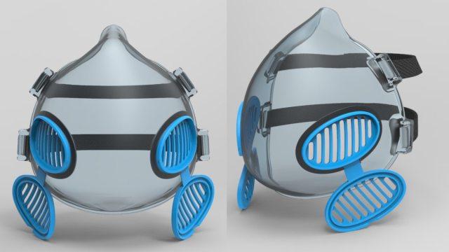 Brankia cubrebocas desarrollado por el ITESO