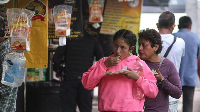 cerrarán puestos comida callejera colonias alto riesgo COVID-19 CDMX