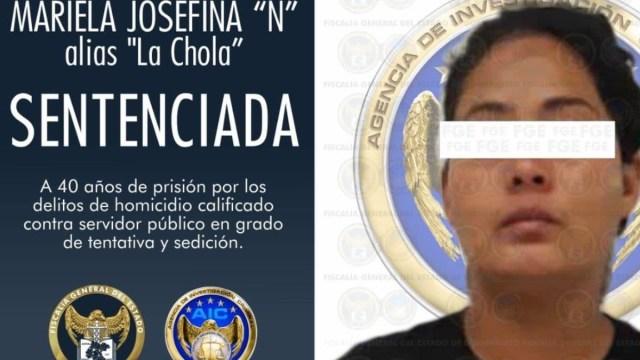 La Fiscalía General del Estado de Guanajuato condenó a 40 años de prisión y una multa de un millón 600 mil pesos