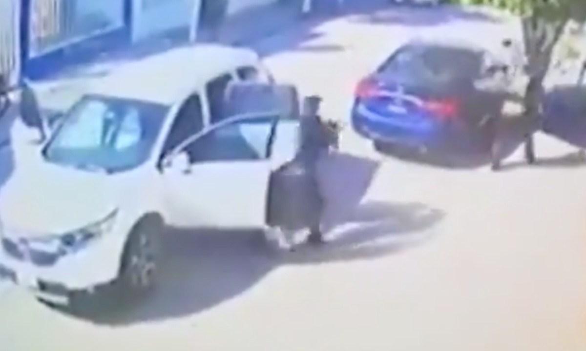 Graban como sicarios del CJNG matan a primo de El Marro [Video]