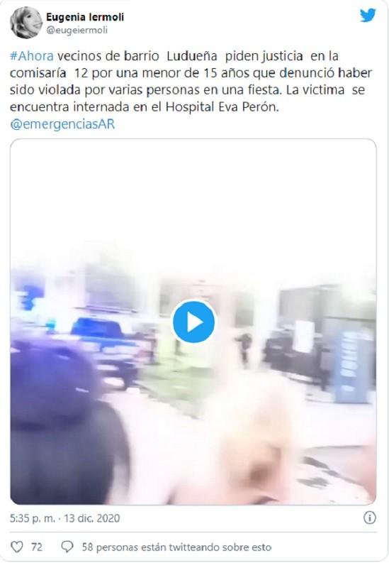 joven festejaba 15 años exnovio violó 9 amigos Argentina