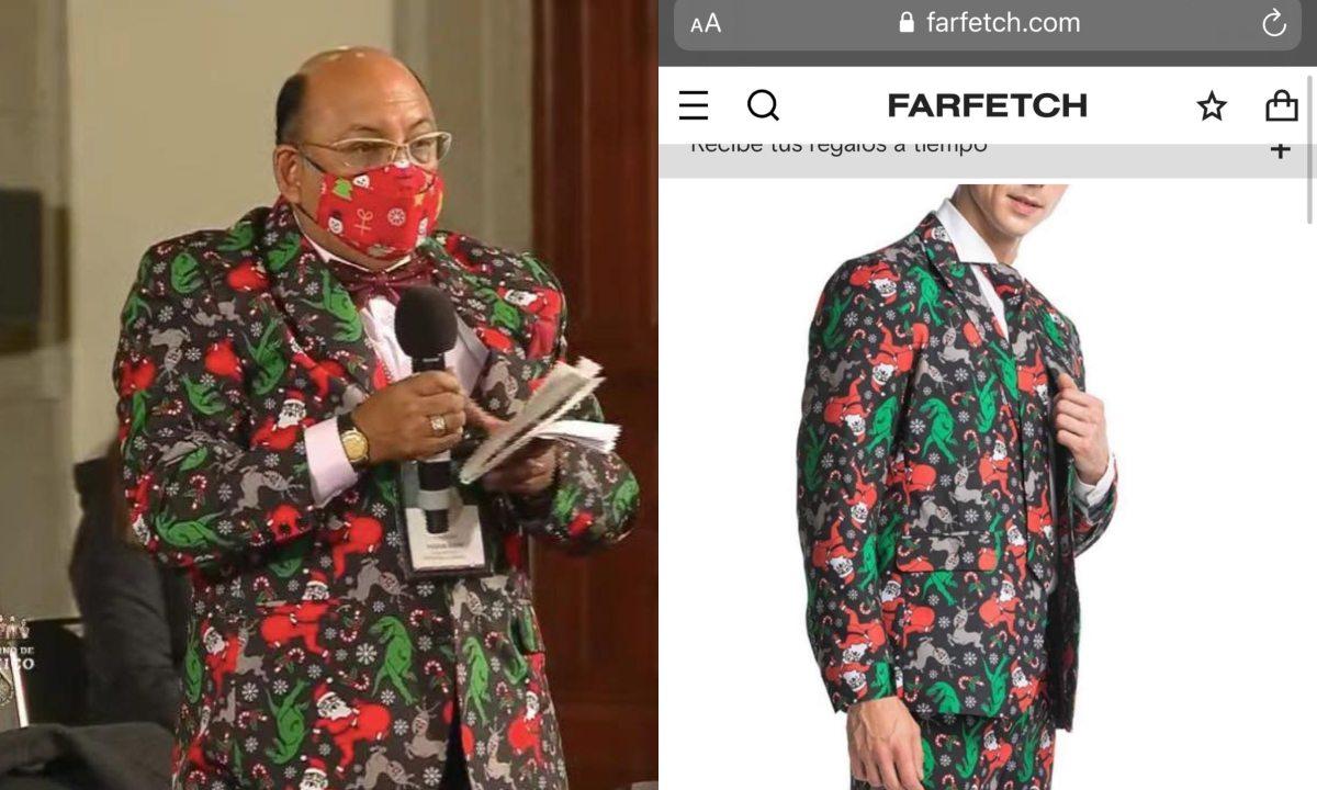 Lord Molécula traje Gucci origen