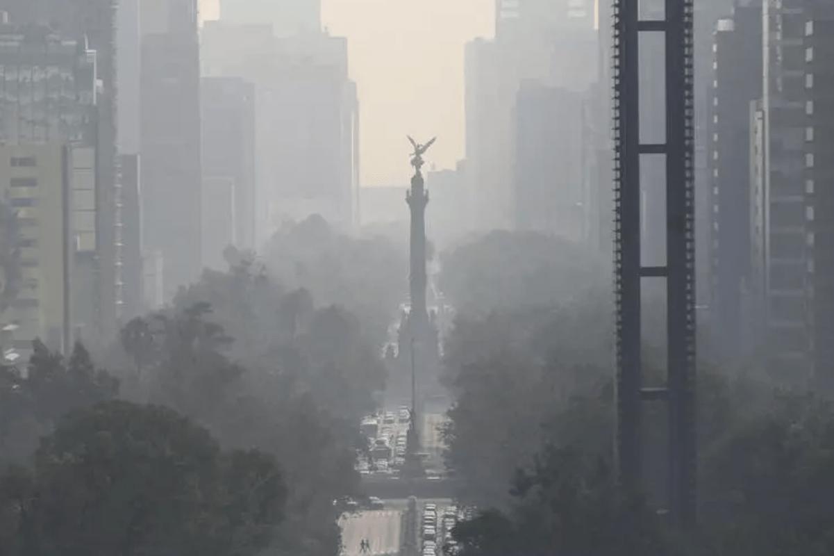Contaminación de México aumenta riesgo de muerte por COVID-19