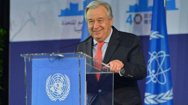 """Antonio Guterres, secretario general de la ONU, pidió a los jefes de Estado declarar """"estado de emergencia climática"""""""