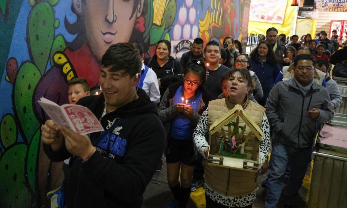 ¿Cuál es el origen de la posada navideña en México?