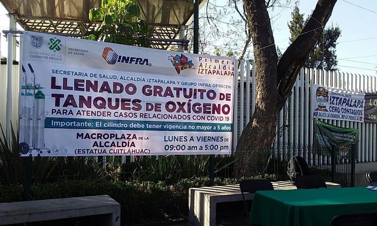 Recargas tanques de oxigeno Iztapalapa