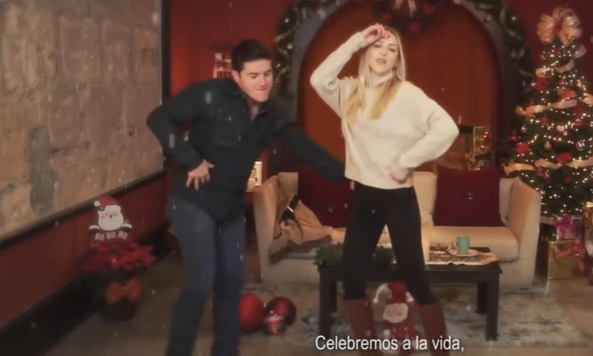 Samuel García video navideño