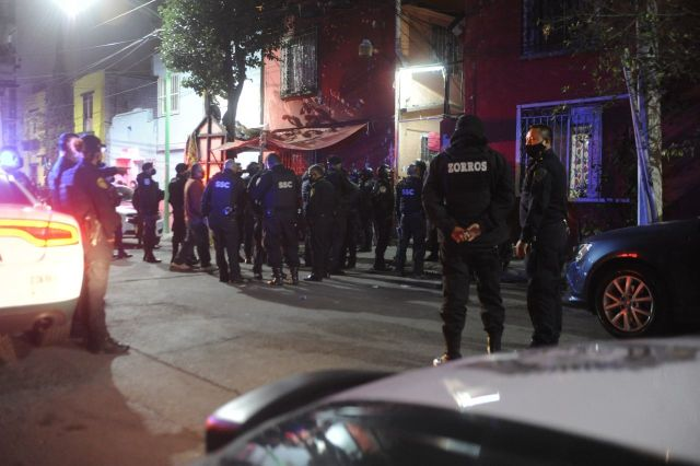 Un homicidio en la Ciudad de México