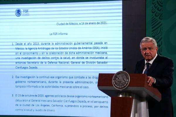 AMLO conferencia 15 de enero