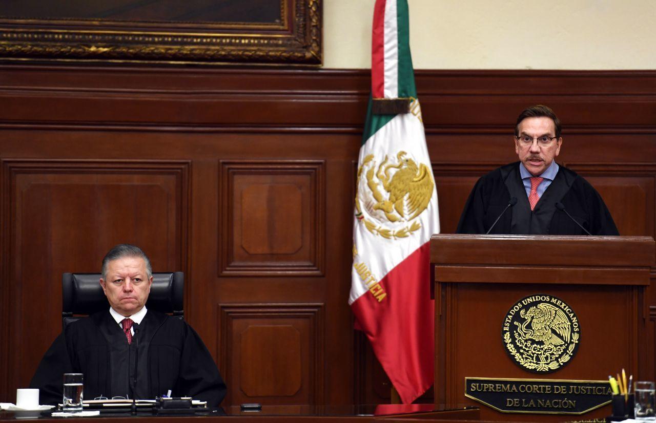 El ministro Javier Laynez, encargado de redactar el dictamen