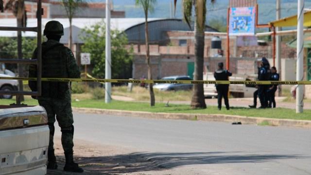 Enfrentamiento Guanajuato 9 muertos