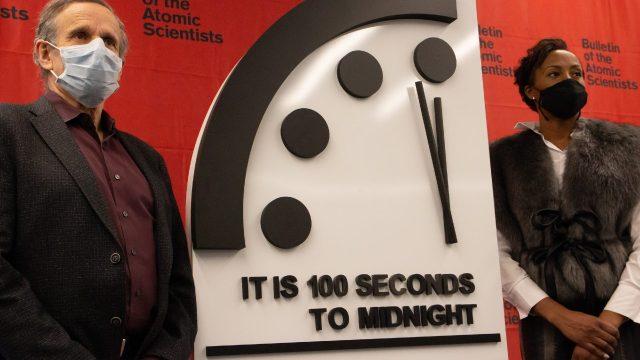 reloj del apocalipsis 100 segundos del fin de mundo