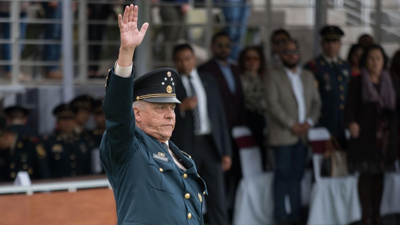 SRE revela expediente DEA contra Salvador Cienfuegos