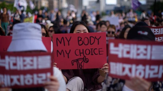 Aborto legal Corea del Sur 2021