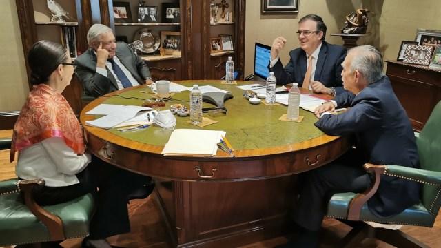 Se comunican AMLO y Biden para abordar temas de COVID-19, migración y desarrollo