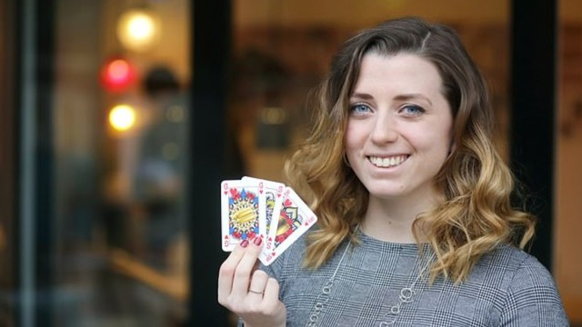 Una joven neerlandesa crea barajas sin reyes ni reinas