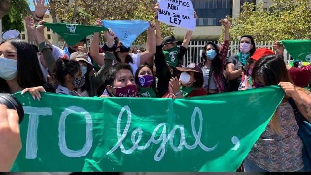 En Chile empezarán las discusiones para que el aborto sea legal, tal y como ocurrió en diciembre del año pasado en Argentina