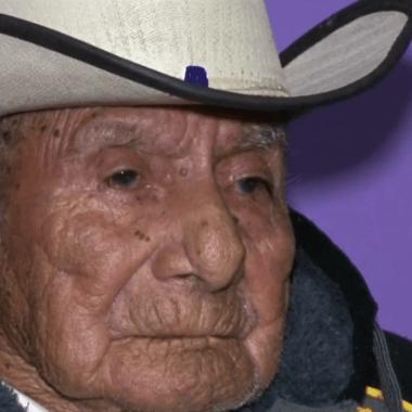 Don Manuel García, el mexicano que ha vivido en tres siglos