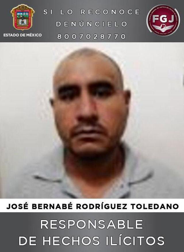 Estado de México: 35 años de cárcel al feminicida José Bernabé Rodríguez Toledano tras haber matado a su novia a golpes con una varilla