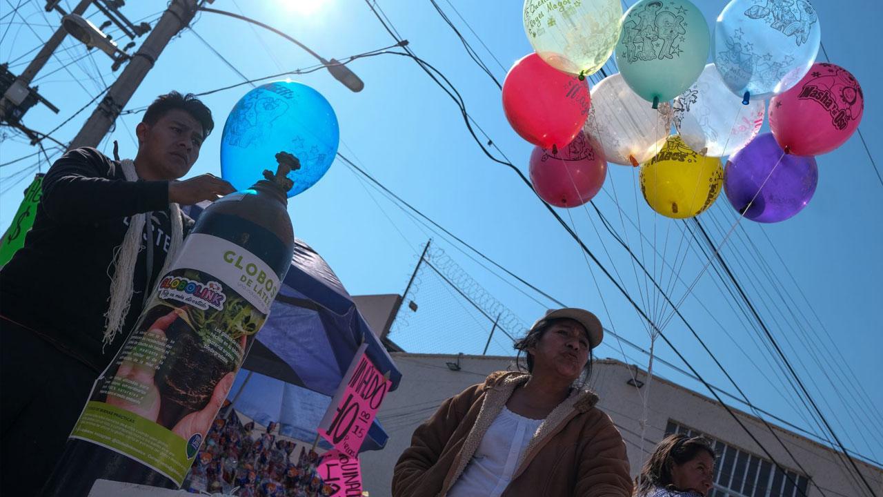 La Sedema pide a los niños que no usen globos para enviar su carta a los Reyes Magos; pide que mejor se use un zapato