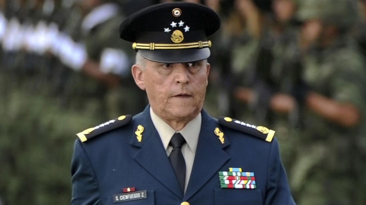 La Fiscalía General de la República (FGR) no emprenderá acción penal contra el general Salvador Cienfuegos