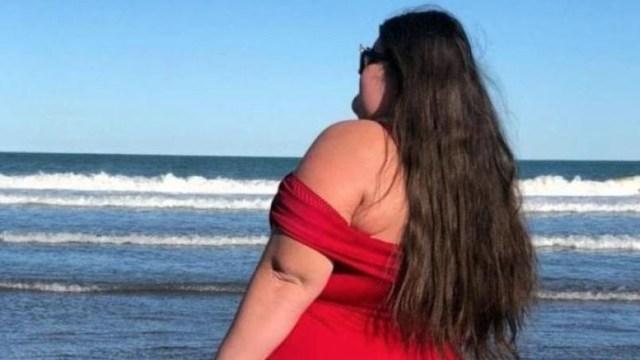 Modelo discriminada por su peso boliche Argentina