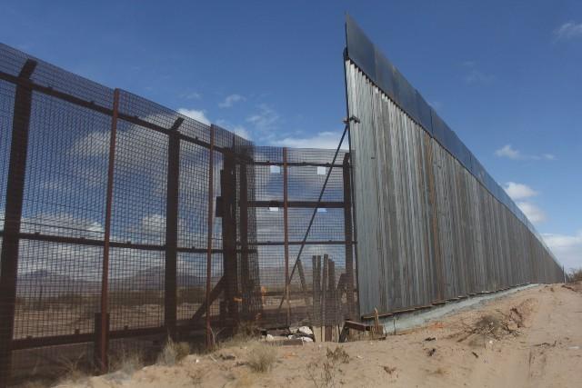 Muro fronterizo México Estados Unidos