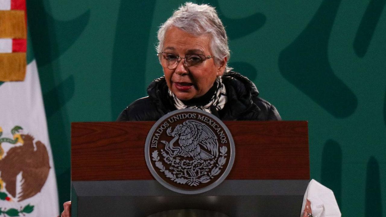 En la manañera Olga Sánchez Cordero se volvió a manifestar a favor del aborto legal en México para salvar vidas de mujeres