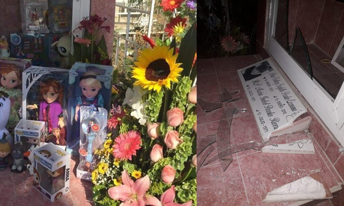 Roban juguetes de panteón en Nuevo León