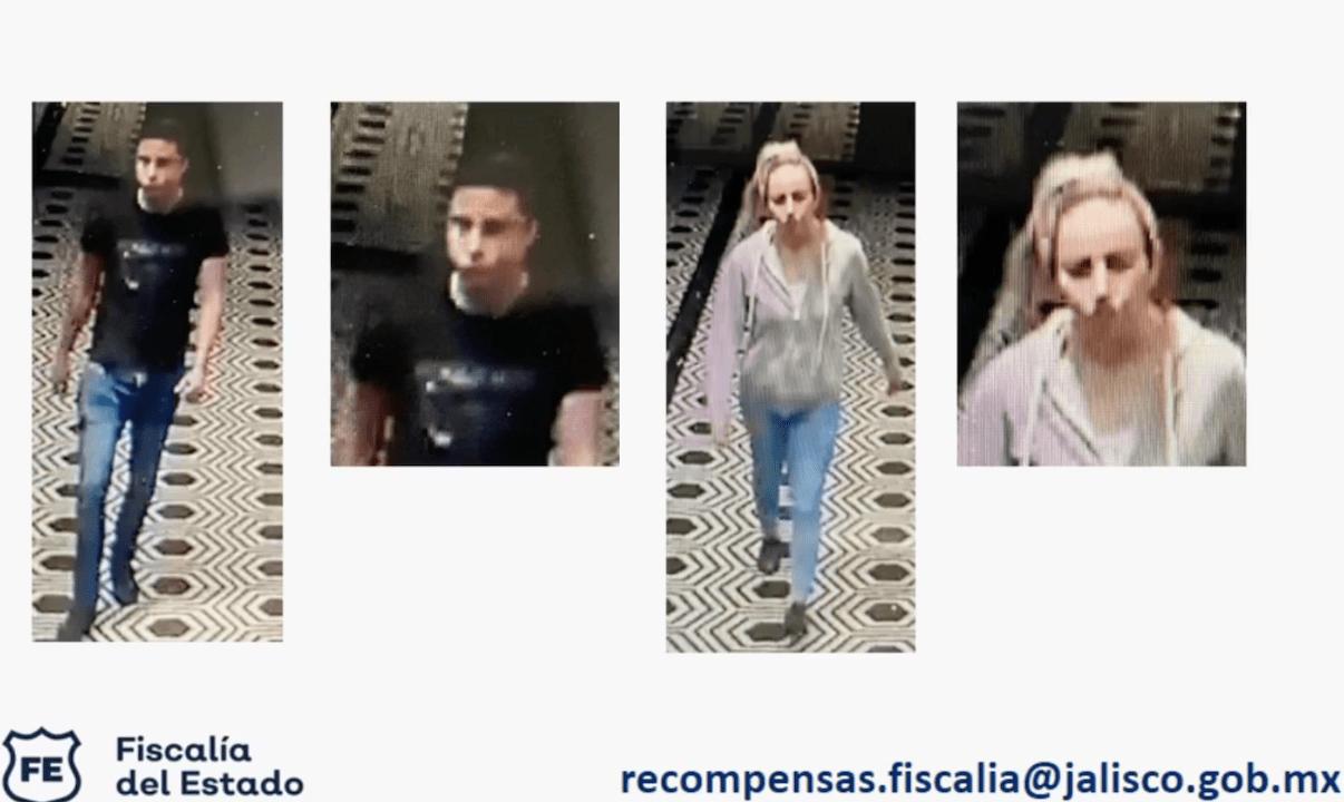 Difunden foto de sospechosos de homicidio de Sandoval; ofrecen 1 MDP por informació