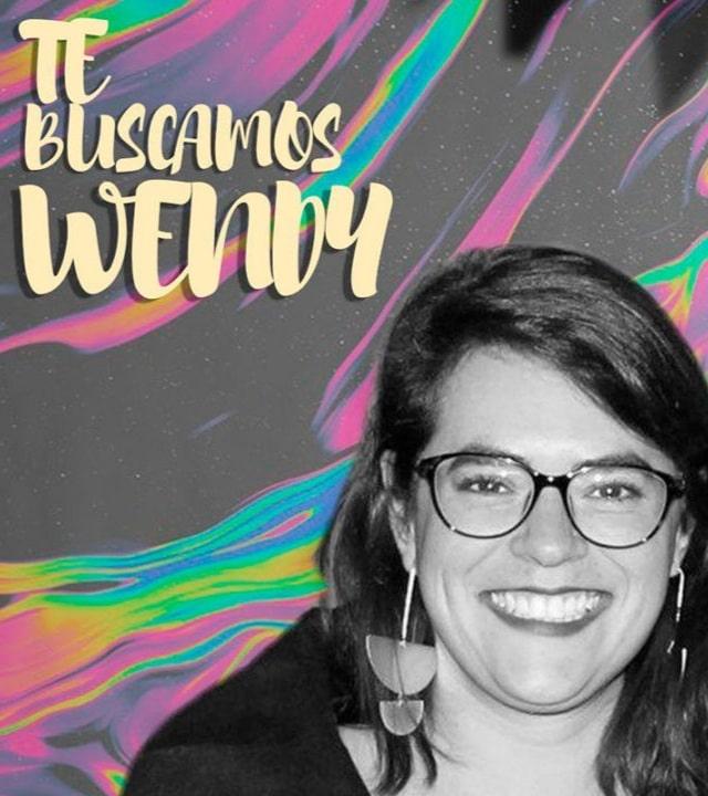 Wendy Sánchez desaparecida
