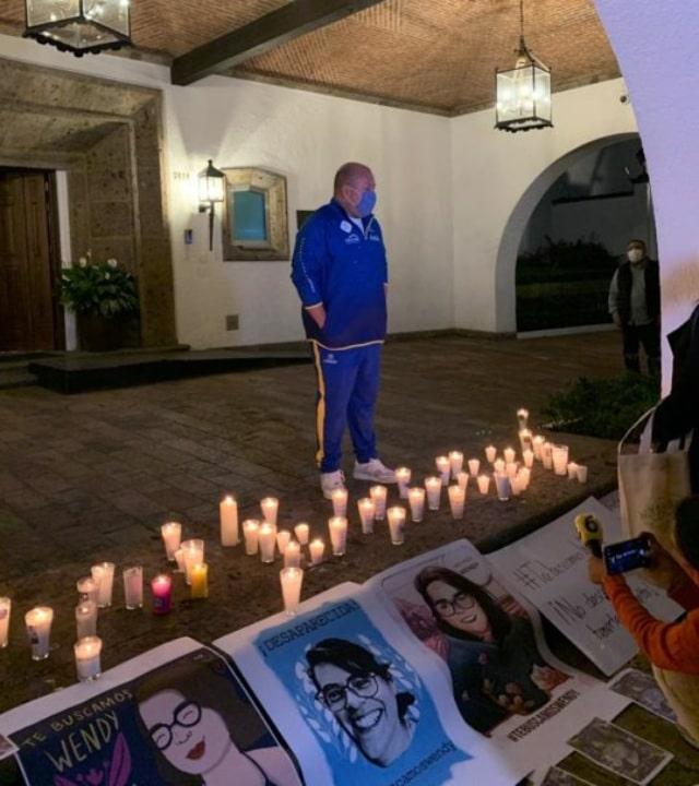 Enrique Alfaro recibió familiares de Wendy Sánchez