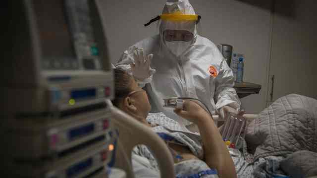 Dona pulmones a paciente COVID-19