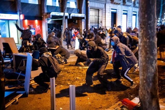 Protestas Pablo Hasél España