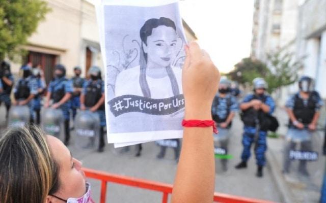 Protestas feminicidio Úrsula Bahilllo