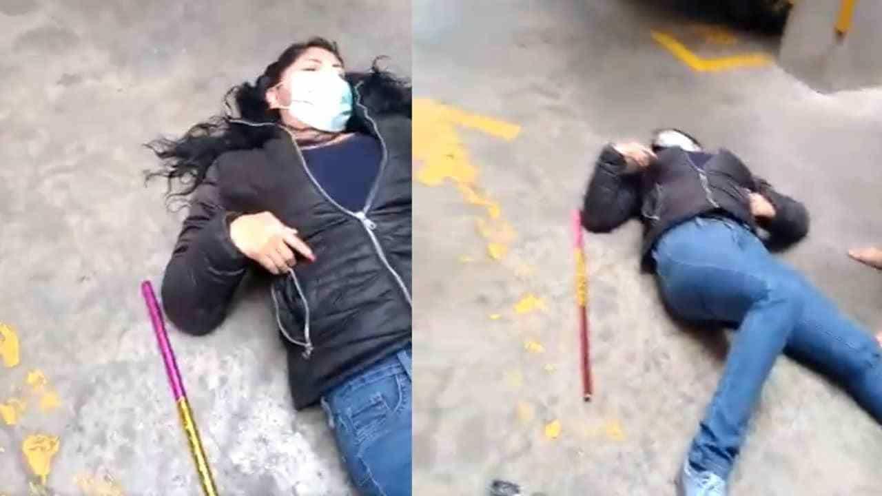 Qué hay detrás del video sujeto agrede mujer Iztapalapa se hizo viral